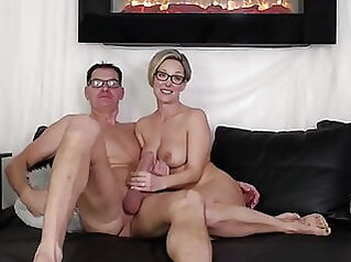 Family couple filming their sex on webcam webcam blonde milf