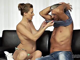 Daddy4k. Experienced Man Enjoys Forbidden Sex With Stepsons Friend hardcore girlfriend granny
