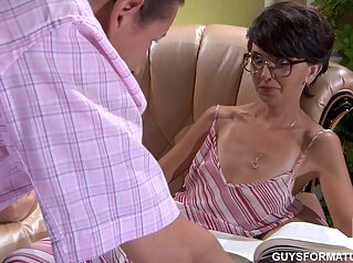 Ferro Network - Lily M Horatio - Guys For Matures brunette creampie cumshot