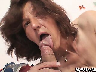 She gets mad when finds him fucking her mom amateur blowjob granny