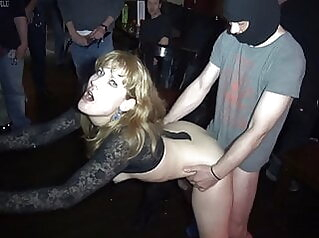 Naughty wife Nicole gangbanged by everybody at a club club porn for women wife gangbang