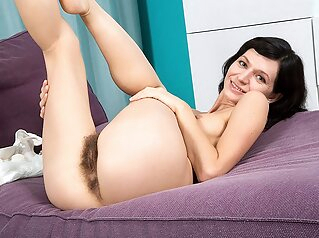Quiet And Hairy - Aria - Naughtymag amateur brunette hairy