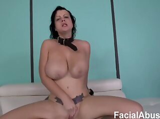 White Whore Abuse anal bdsm big cock