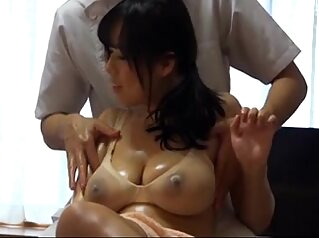 Husband Watches Japanese Wife Get a Naughty Massage - 1 asian facial japanese