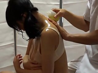 RIX-006 Tits Wife Netora To Business Trip Oil Massage asian japanese wife