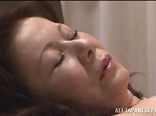 Chizuru Iwasaki hot mature Asian chick is fucked hard asian blowjob hardcore