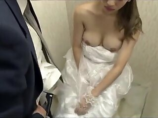 Japanese bride gets fucked by husband friend (Full: bit.ly/2Odtl7r) asian creampie cumshot