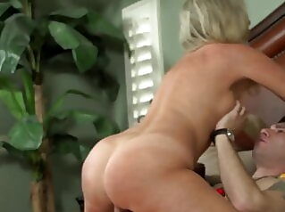 Lustful Stepmom's Christmas Party Jodi West hardcore mature pornstar