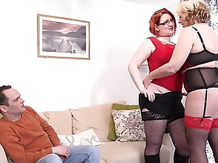 Mature busty mothers sharing so happy guy bbw mature pornstar