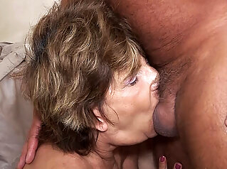 deepthroat with 79 years old mom anal deepthroat granny