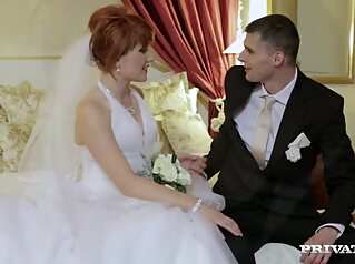 Redhead Bride Has Threesome Before Wedding redhead bride has threesome before wedding