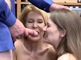 Big dick hardcore and orgy hd first time Suspects babe blonde blowjob
