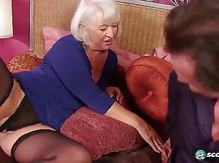 Grandma wants it again anal sex toy mature