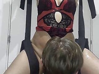 Hotwife squirting for the first time ever amateur blonde squirting