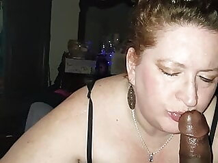 Mother In Law Sedecued giving Blow Job. Lustful Milf blowjob cumshot mature