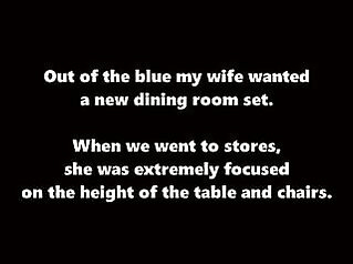 Some Dining Room Furniture cuckold cheating wife