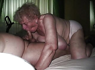 BUST YOUR WAD ON GRANNY'S BOD! blowjob cumshot handjob