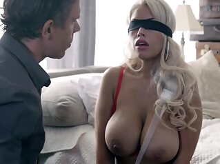 Bridgette B - Submissive Babe Gets Fucked While Bound Gagged Blindfolded big tits latina fetish