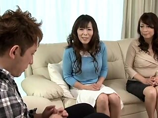 Hot japonese mother in law R amateur japanese mature